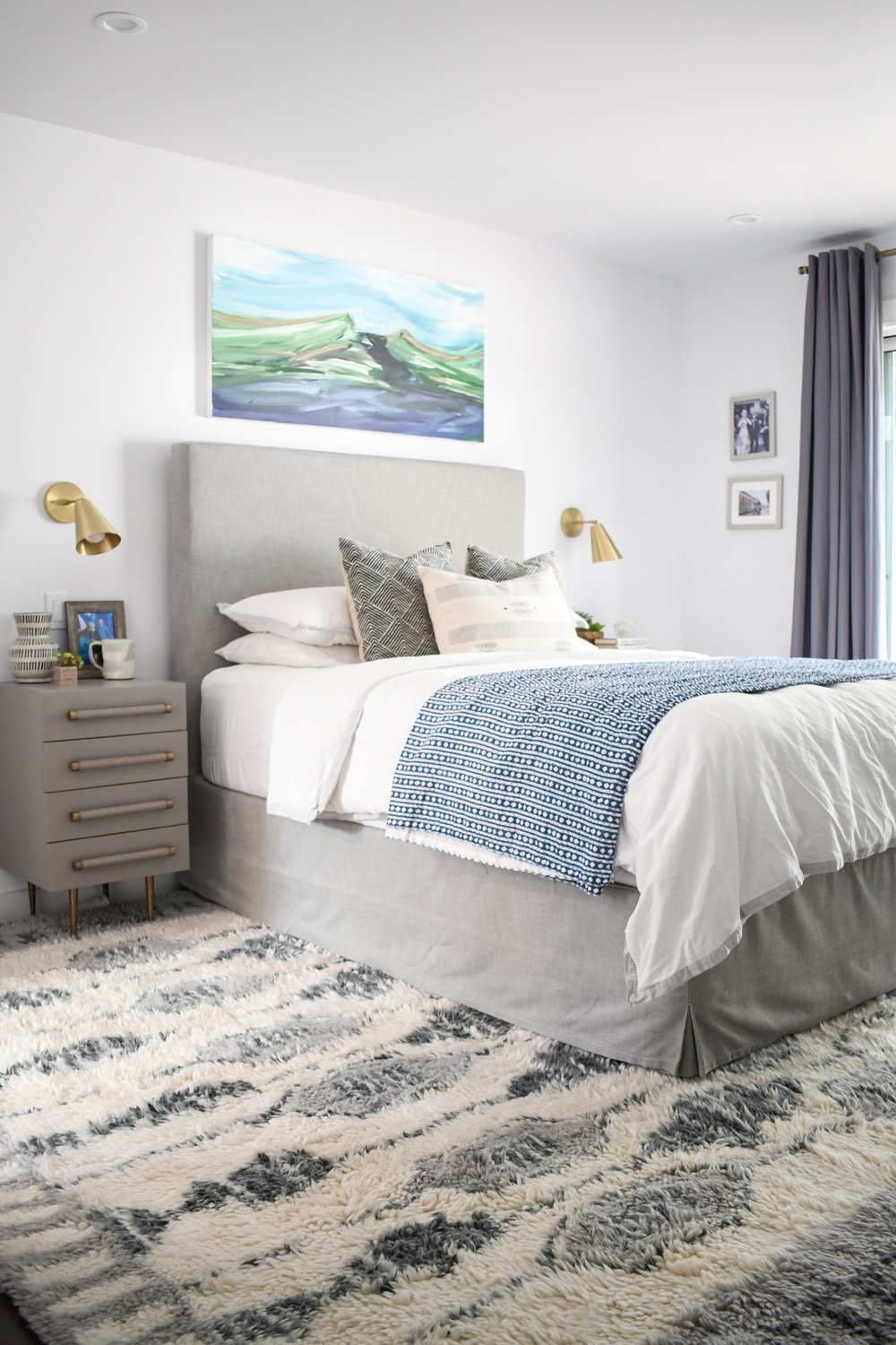 Angela Grace Design // Amber Master Bedroom // San Francisco and SF Bay Area Interior Designer, Decorator