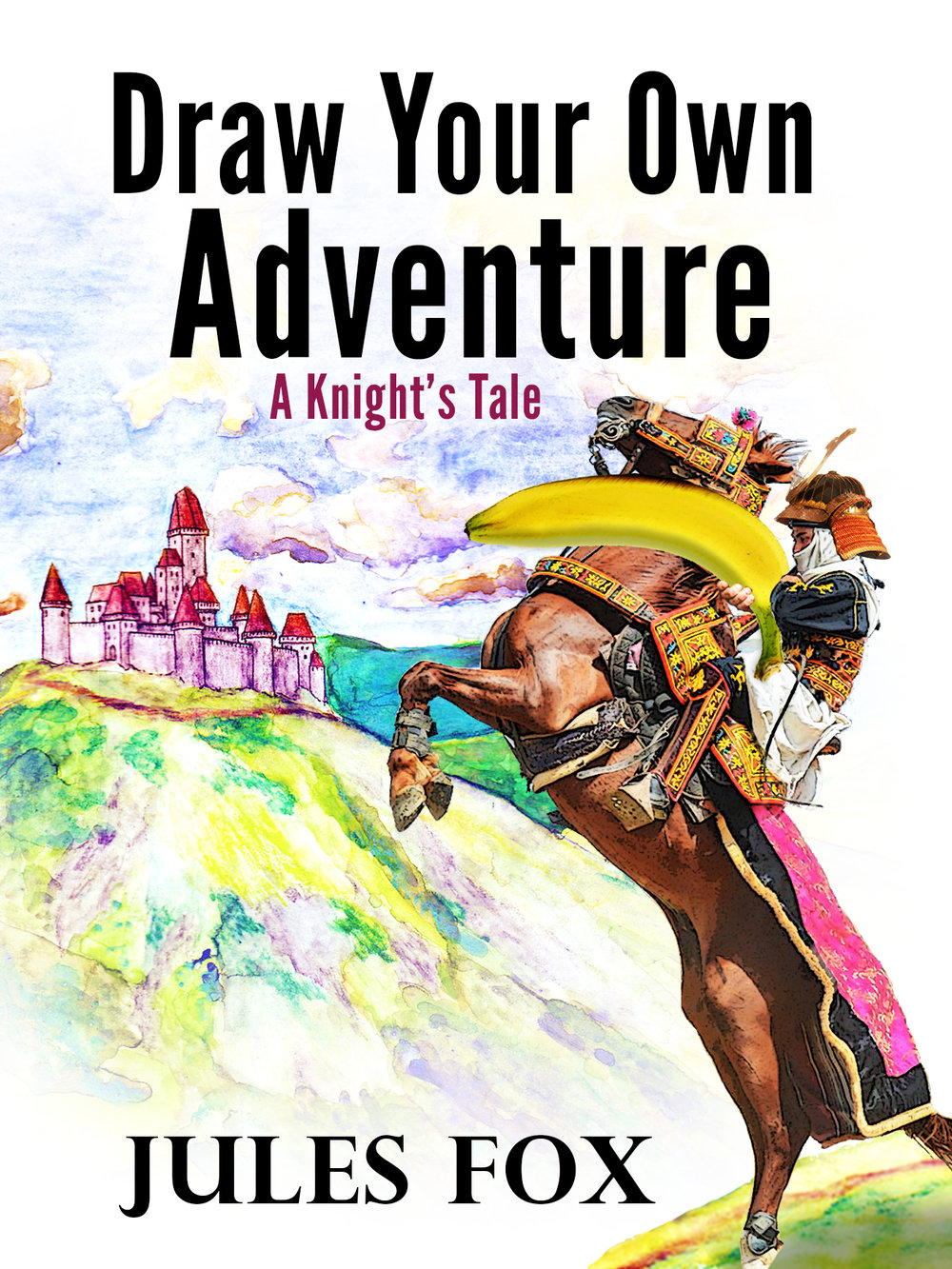 Draw Your Own Adventure - A Knight's Tale   Pick the perfect words to make this story serious, or silly! Then illustrate the pictures yourself, or find some help at the back of the book.  In this story, a knight goes on a quest to rescue a princess from an evil wizard... unless you turn the tables and change up the story!  A good choice for middle grade children ages 8-12.