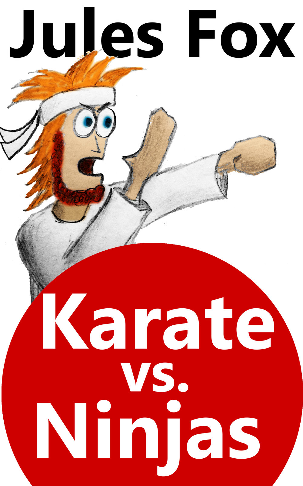Karate Vs. Ninjas 1 - Origins    White Karate, the baby born with a headband on, trains his entire life to try to live up to Sensei's expectations. But when the Scroll of Ultimate Power is stolen from the dojo and Sensei is gone, it is up to him to keep the karate spirit alive and fight off the ninjas!  Will he live up to his destiny?  This is White Karate's side of the Origins story.  An action comedy for children ages 8-12.