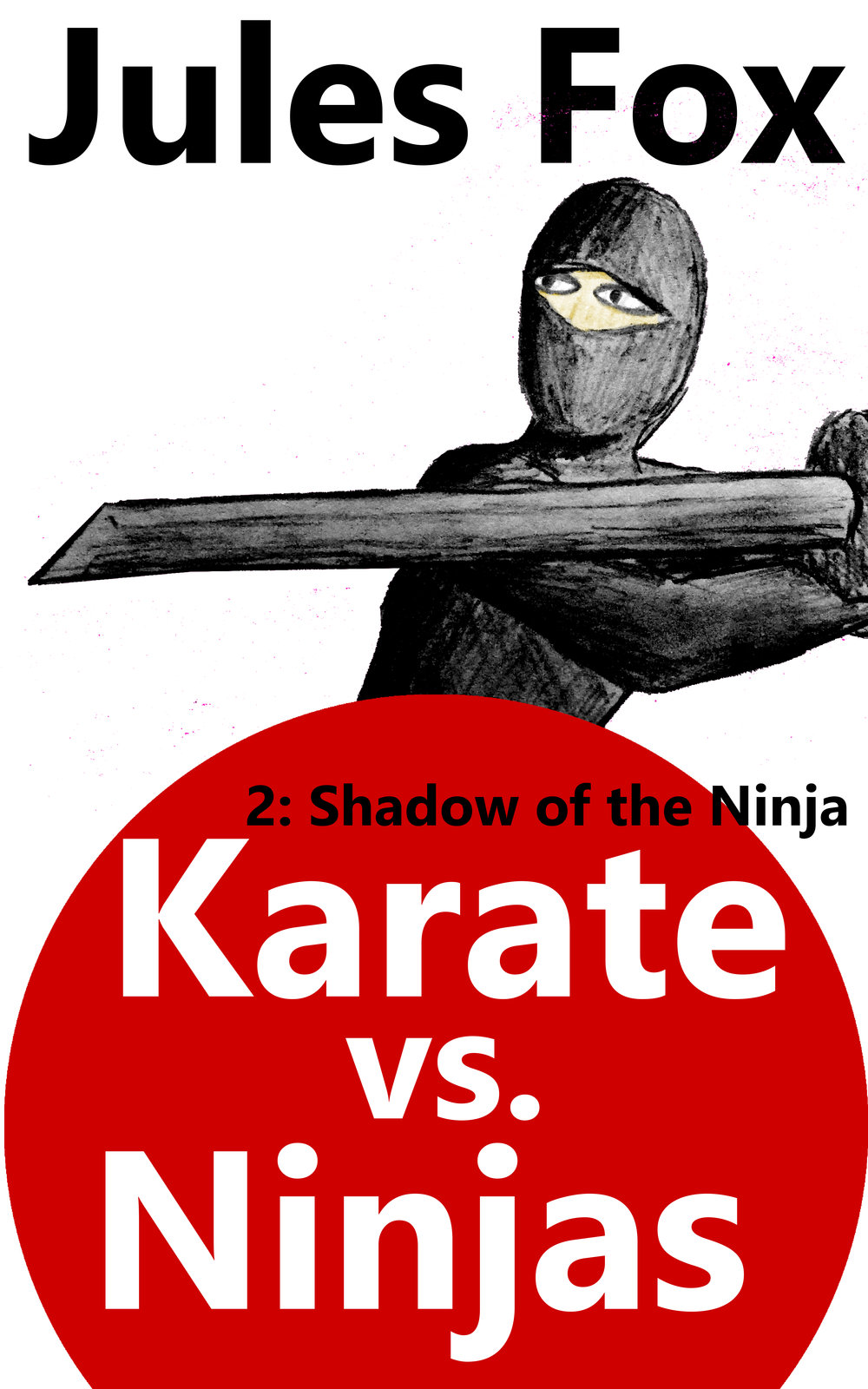 Karate Vs. Ninjas 2 - Shadow of the Ninja    Stealthy Ninja is the kidnapped baby with the blue glow, and smoke magic. When the cruel Shogun Shigi trains him to steal the Scroll of Ultimate Power, he is faced with a dilemma: all he wants to do is be an entertainer for the people, yet he can never reveal his identity.  Will he fulfill the orders he resents?  This is Stealthy Ninja's side of the Origins story.  An action comedy for children ages 8-12.