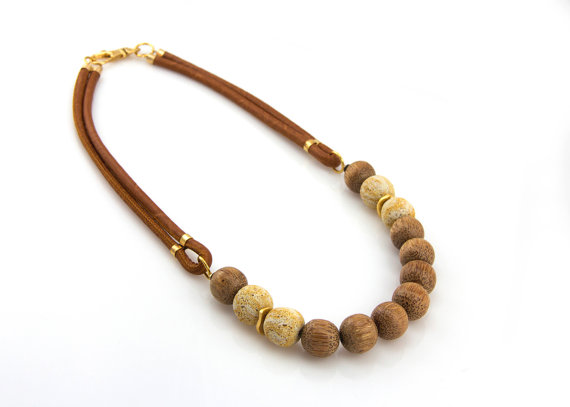 Wooden Necklaces -
