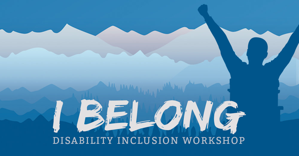 I Belong: Disability Inclusion Workshop