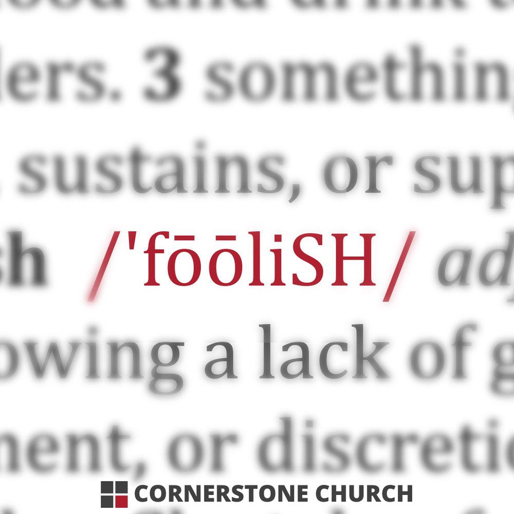 2 | Foolish is as Foolish Does