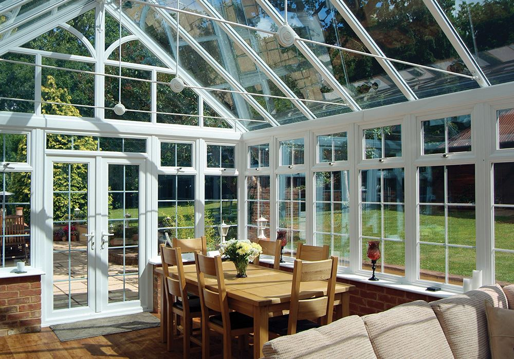 Conservatories - Our UPVC Conservatories are always custom made ensuring total satisfaction . We'll create your perfect, bespoke conservatory in our durable, low-maintenance uPVC. Pick your favourite style, add a glass or solid roof, then we'll build it to your precise specifications - including size, colour and decorative finishes.