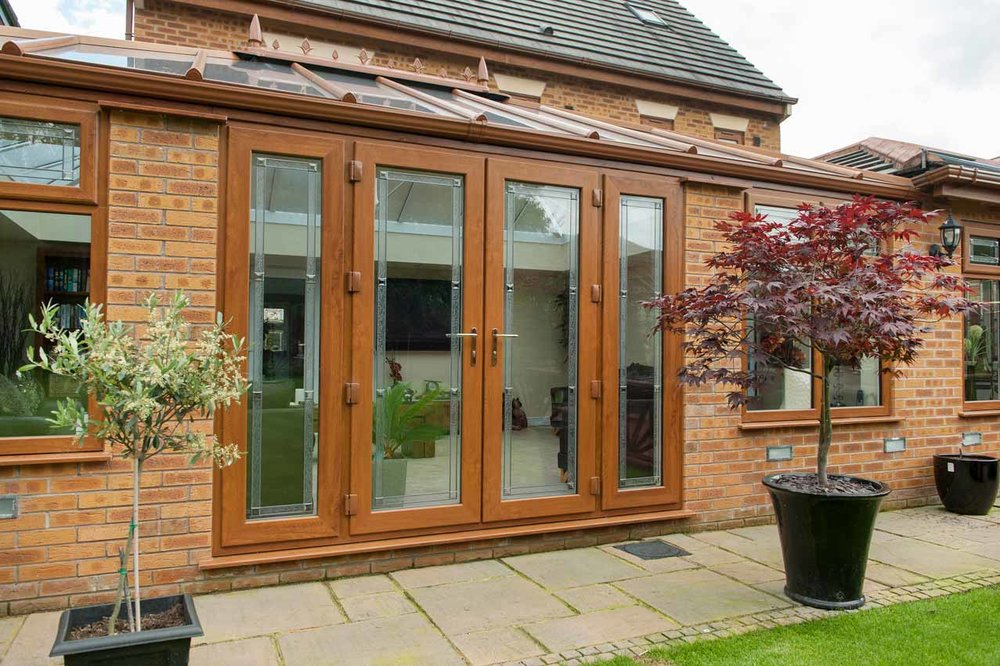 French Doors - Our UPVC french doors are especially designed to allow as much light into your property as possible, the glass panels create a spectacular view of your garden bringing the outside in.