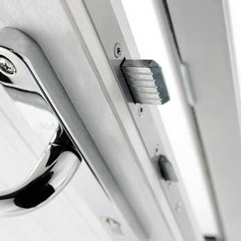 Security - The Avantis Lock is exclusive to Solidor and was recently subject to the very highest testing procedures at a UKAS accredited Test Centre.  According to the testing house at Mila it was 'the strongest composite door yet tested' thanks to the hardware and the fact that the Solidor slab is a solid timber core, rather than a foam filled GRP door that other manufacturers use.