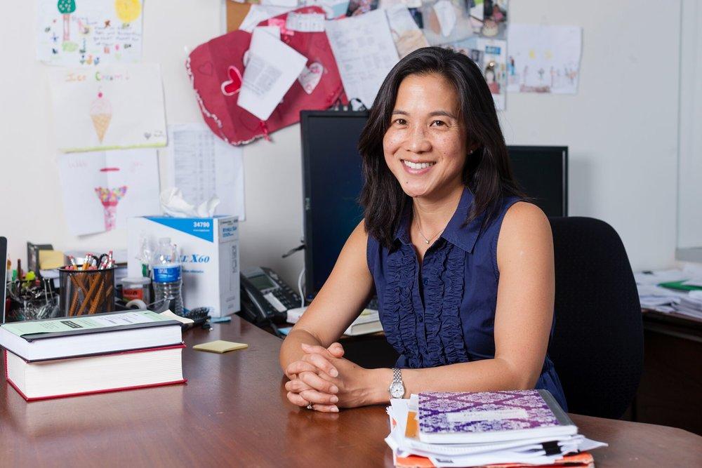 Angela Duckworth in office