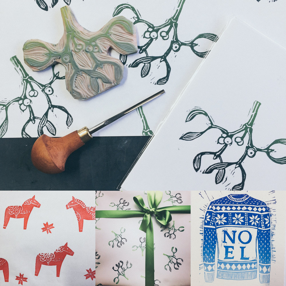 Christmas Stationery Workshop - .