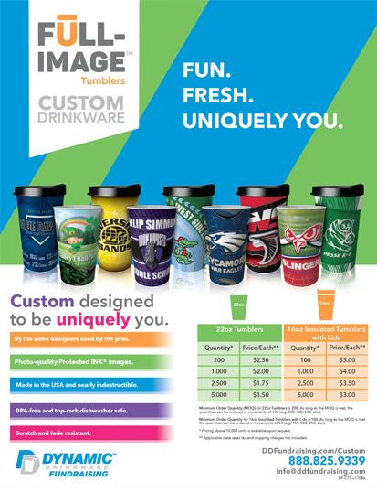 Custom Drinkware Sales Sheet