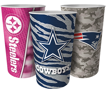 Football Fundraising NFL Tumblers