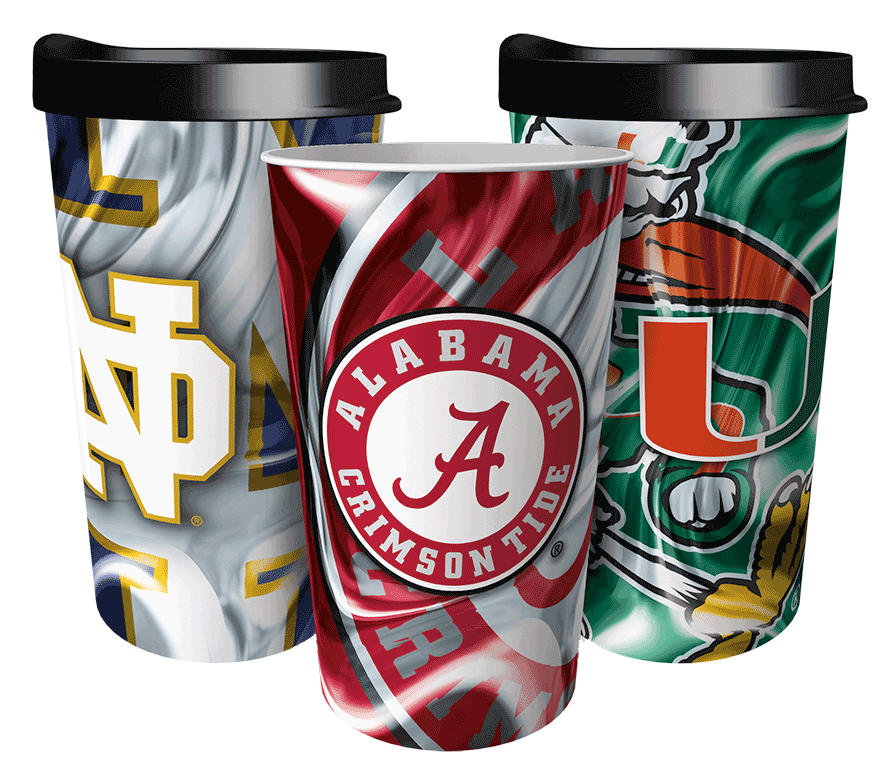 College Full-Image Tumblers