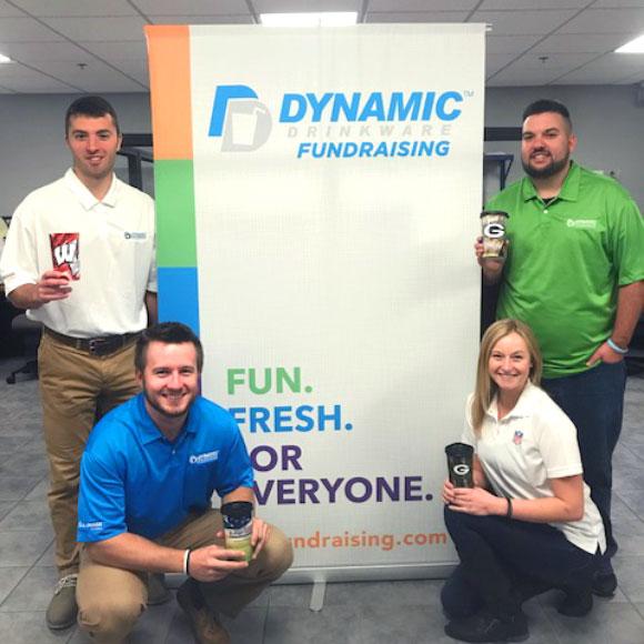 Dynamic Drinkware Fundraising Customer Service Team Oshkosh