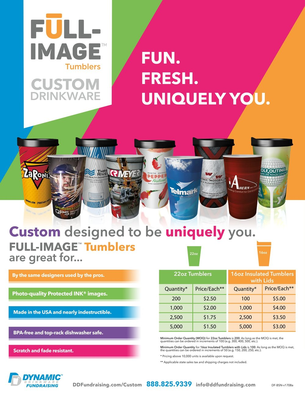 Custom Drinkware for Businesses