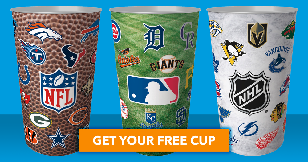 Get Your Free Cup