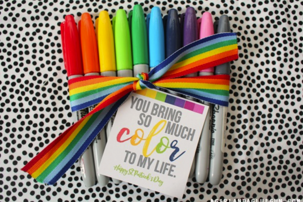 For terrific teachers - Because they can always use more markers! Get printable>