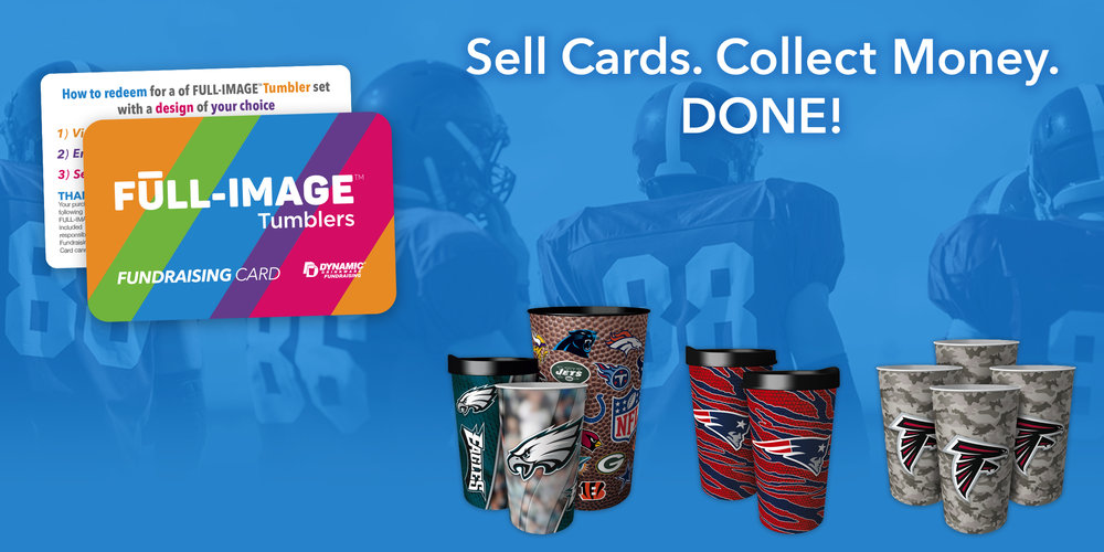 Football Fundraising with Dynamic Drinkware Fundraising