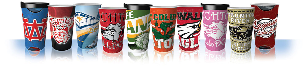 School Fundraising Lifestyle Tumblers