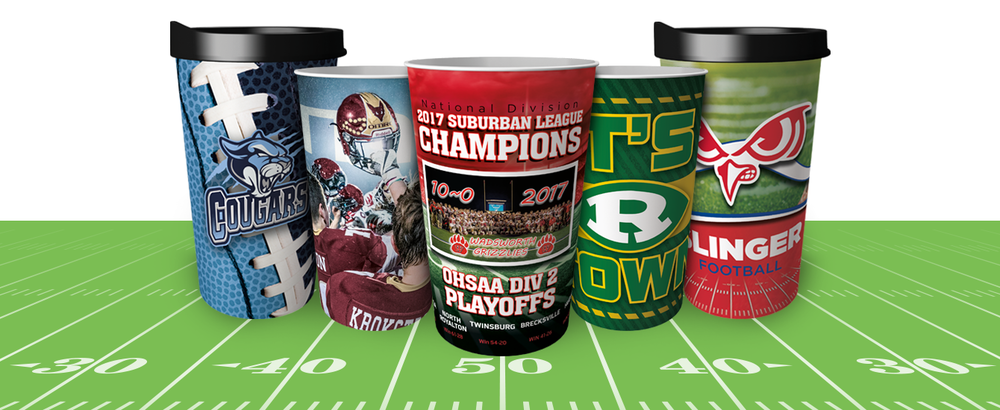 Football Custom Cups