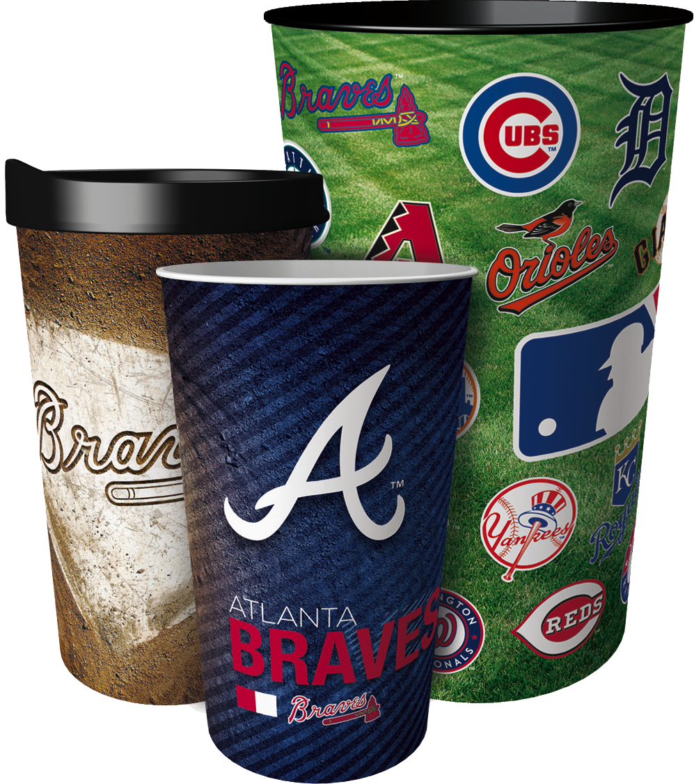 Atlanta Braves Full-Image® Tumblers