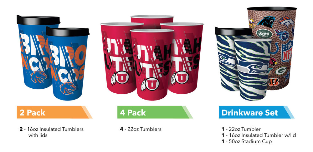 Sample Fuel Up Cups