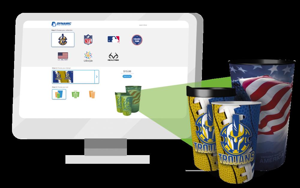 Custom Online Fundraising Store