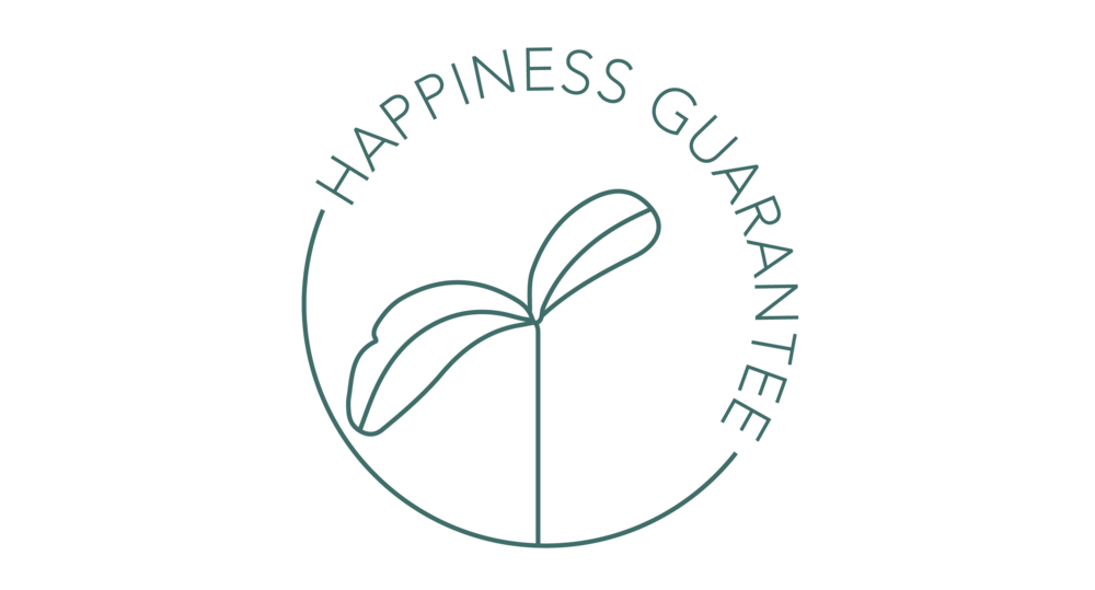 Happiness Guarantee - 100% risk-free design — if you're not happy, we'll find a way to make it right.