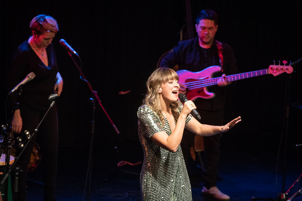 Jill Barber at the West End Cultural Centre on Monday October 22, 2018  Photo by Matt Duboff