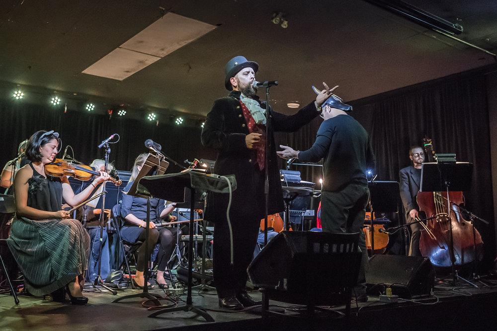 Todd Martin's Halloween at the Good Will Social Club on Sunday October 28, 2018  Photo by Joe Oczerklewicz