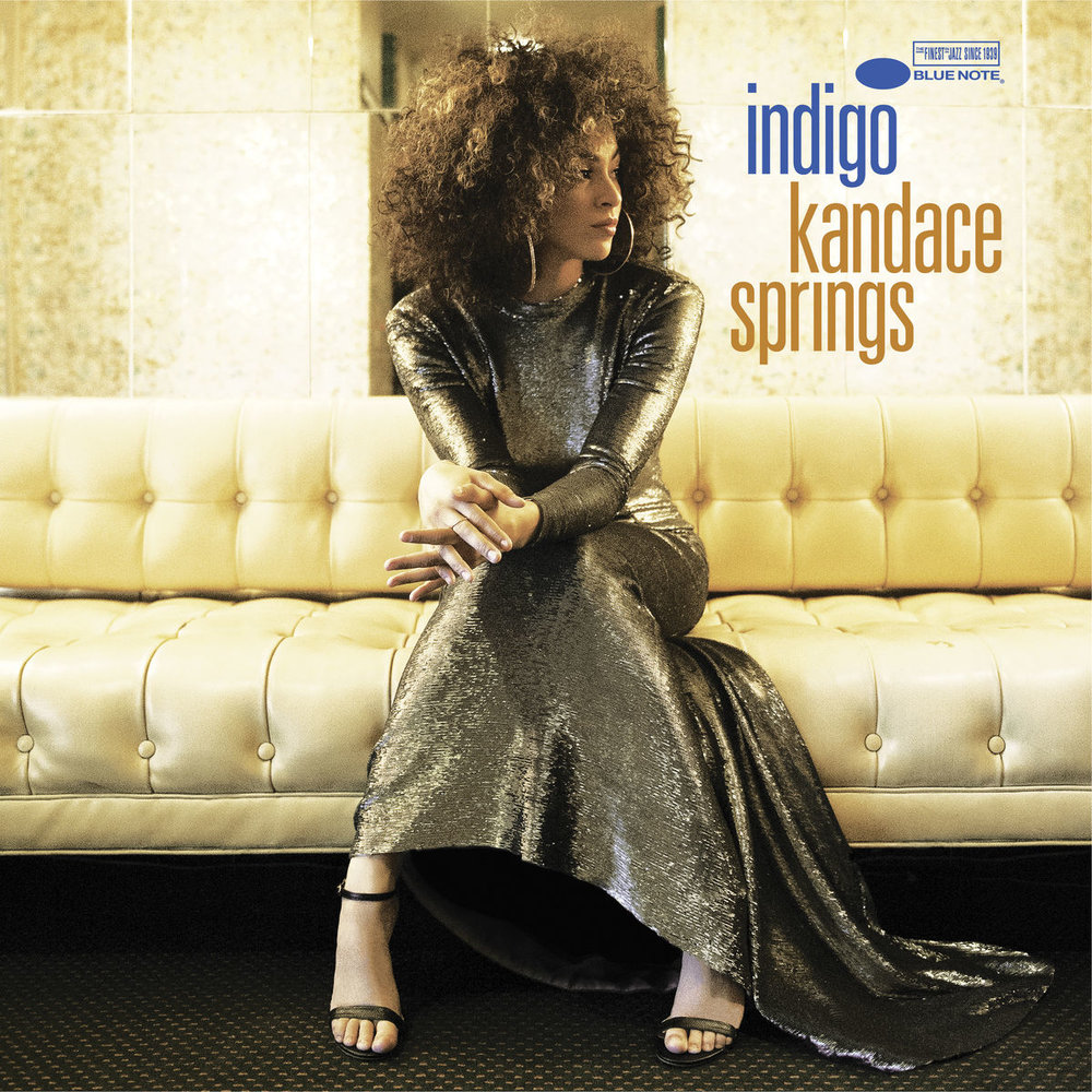 "Kandace Springs, Indigo (Blue Note Records, 2018) - ""Kandace Springs' Indigo is an epic blend of R&B, soul and rock, complemented with jazz influences and undertones. I think her album takes the listener on a journey of self-discovery, it's the kind of album to put on while you're on the bus, going for a walk, or reading a book."" - Alexa Potashnik, Volunteer Coordinator"