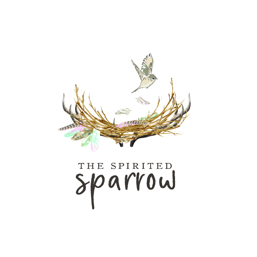The Spirited Sparrow Boutique  Logo Design By Sarah Harris | Studio160 Designs Shopify Website Design By Jenny Felsen