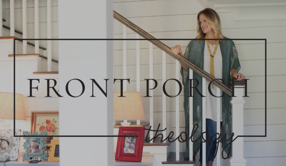 Front Porch Theology with Windy Gallagher  Website Designed By Rebecca Renfrow