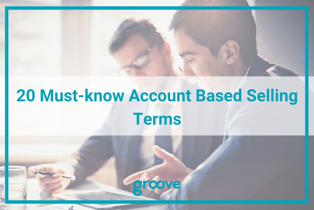 20 Account based selling terms