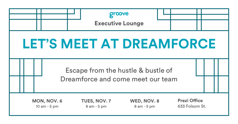 Dreamforce 17 Executive Lounge