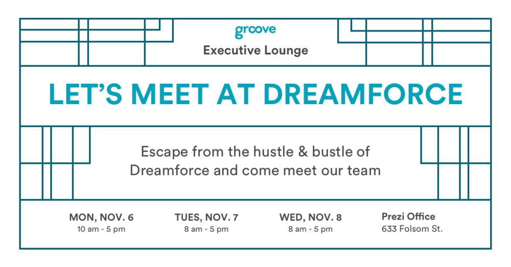 Dreamforce 17 Executive Lounge