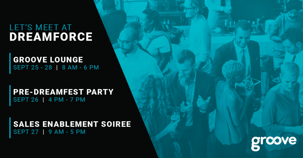 Dreamforce 2018 Groove Lounge and Happy Hour Party