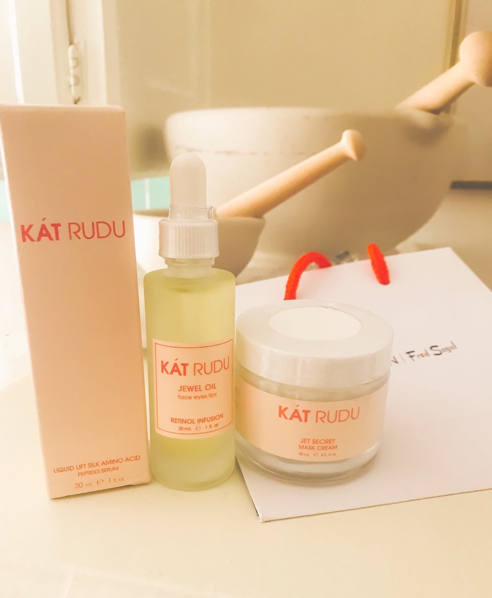 Mindful SkinCare Moments - Keeping my skincare routine up while traveling is also part of my mobile mindfulness practice. Taking the extra time to still practice your self-care while you are on the go really contributes to your wellbeing and heart's fulfillment.I have shared about my dear friend Kat Rudu's special skincare products before on my instagram stories. Her products are highly intentional, medical grade, naturally sourced and very high vibe. I can't recommend her skincare enough, and I always bring along her Jet Secret Travel Kit when I am jet-setting around myself.Using the same skincare products that I have at home also gives me a sense of grounding while I am on-the-go.Kat has offered us 15% off her Jet Secret Travel Kit with the code LITFROMWITHIN.