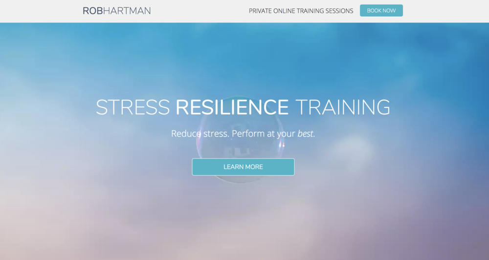 Author & Stress Resilience Expert - Messaging & Marketing Strategy