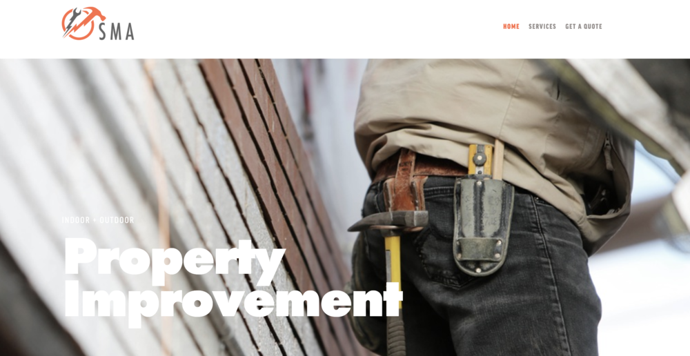 Property Improvement - Branding, Website Design & Developemnt
