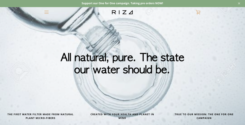 All Natural Water Filters - Branding & Messaging, Website Design & Development, Digital Marketing Strategy & Implementation
