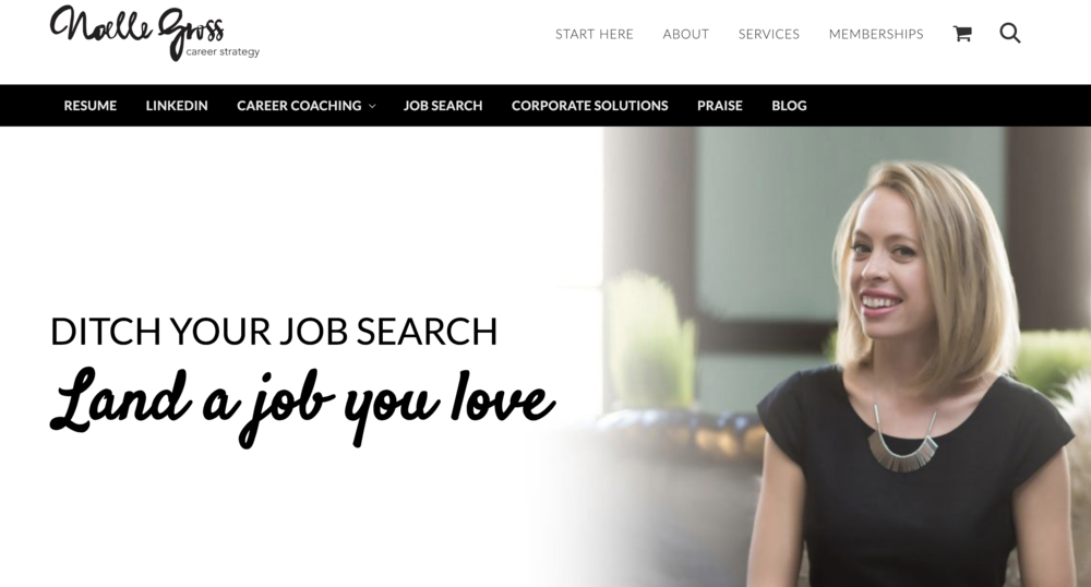 Career & Resume Strategy - Website Audit, Email Marketing Strategy