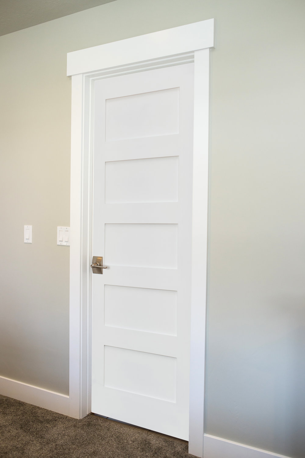 Charmant 5 Panel Shaker Primed Solid Core MDF Interior Door. Shaker_5 Panel_1  Shaker_5 Panel_2 ...