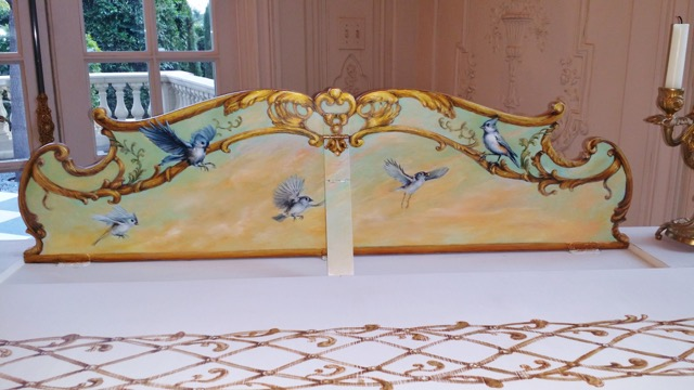top area of painted piano
