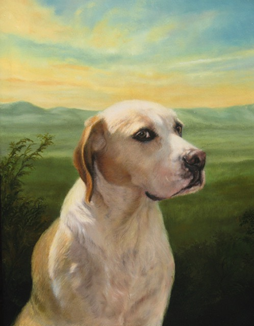Labrador Retriever Portrait by Jennifer Chapman