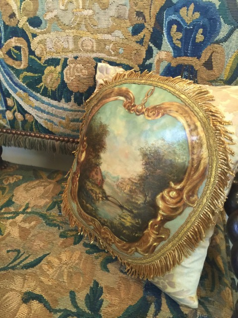 Landscape Decorative Pillow from the Masterpiece Collection by Jennifer Chapman