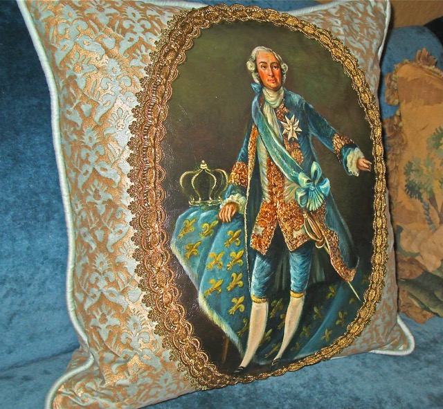 Husband of The Aristocrats Pillows from the Masterpiece Collection by Jennifer Chapman