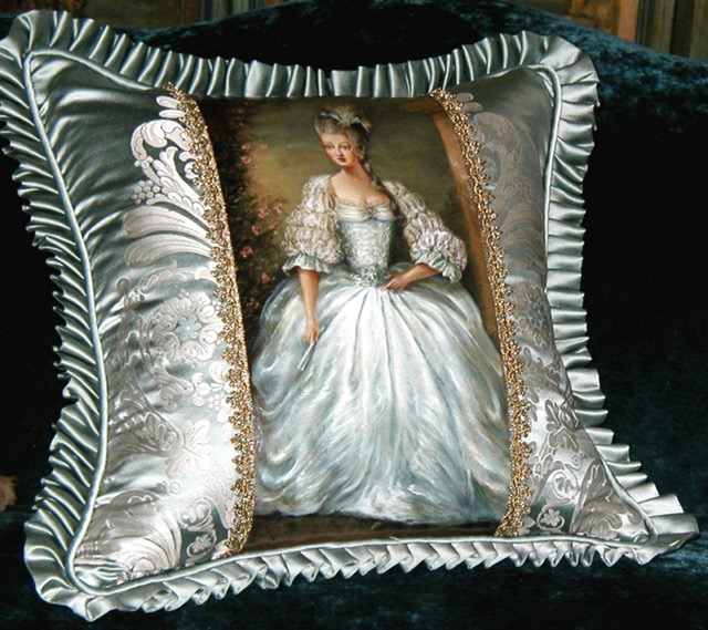 Artistocratic Lady Pillow from the Masterpiece Collection by Jennifer Chapman