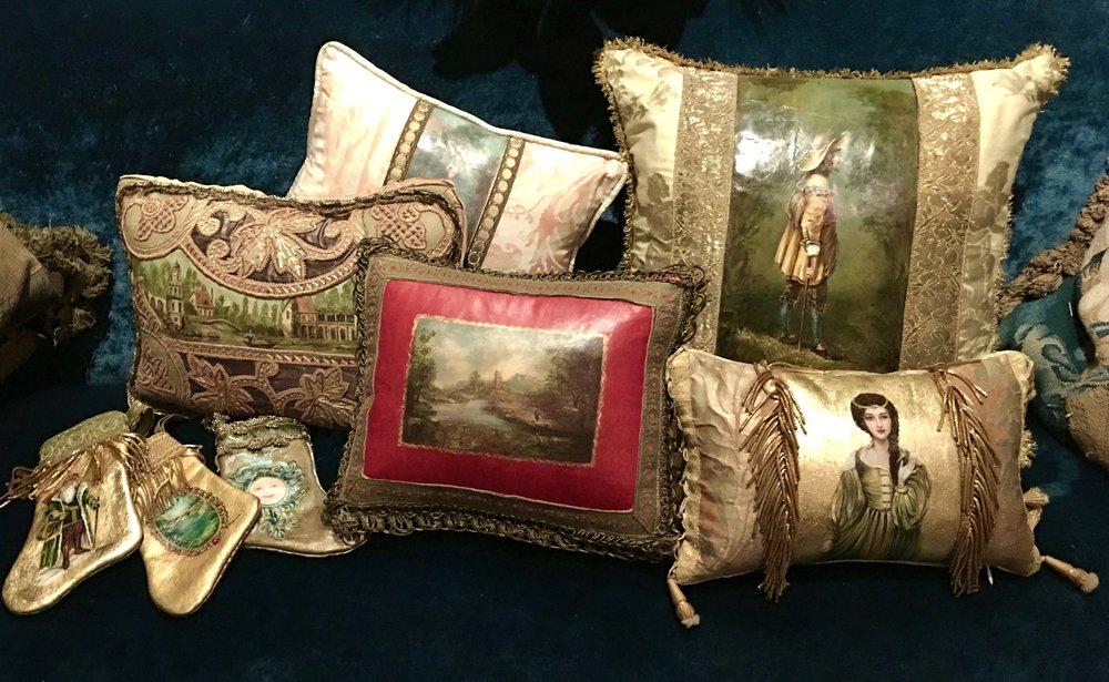 Pillow Masterpiece Collection by Jennifer Chapman
