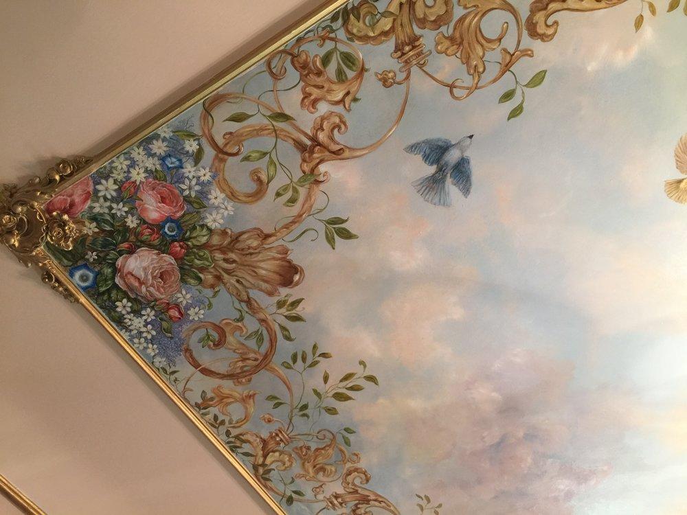 Stunning Ceiling Mural by Jennifer Chapman