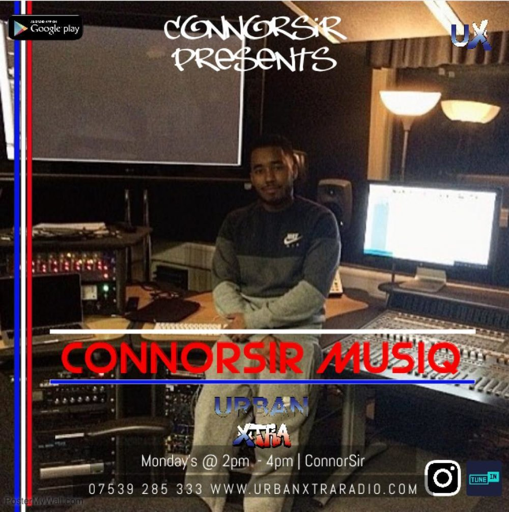 Connorsir Musiq - Monday 2 - 4pm