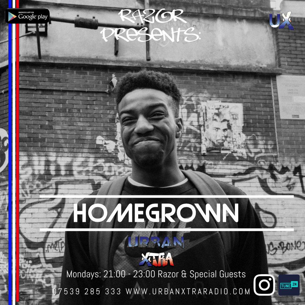 Homegrown, Monday 7 - 9pm
